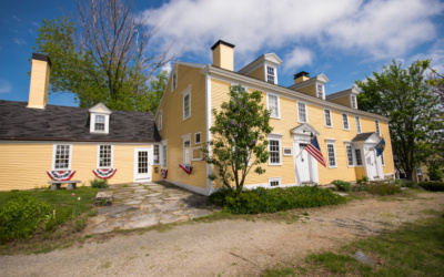 American Independence Museum celebrating 300 year Anniversary of Ladd-Gilman House